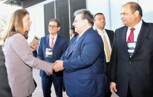 Visit of Colombian Vice President 2