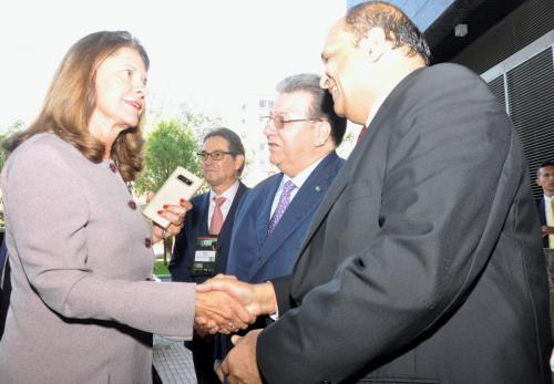 Visit of Colombian Vice President 4