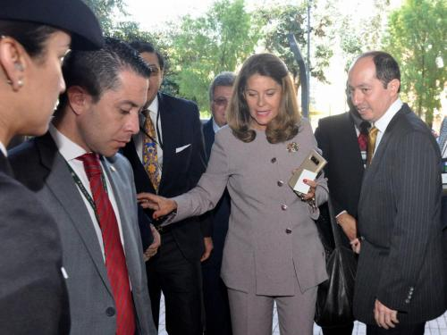 Visit of Colombian Vice President 5