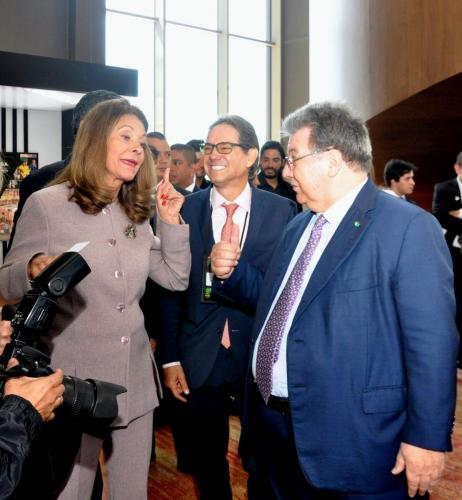 Visit of Colombian Vice President 7